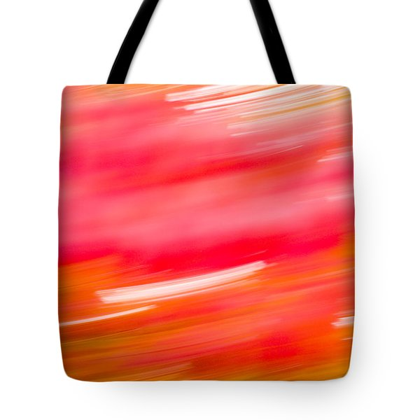 Autumn Abstract Tote Bag by Shane Holsclaw