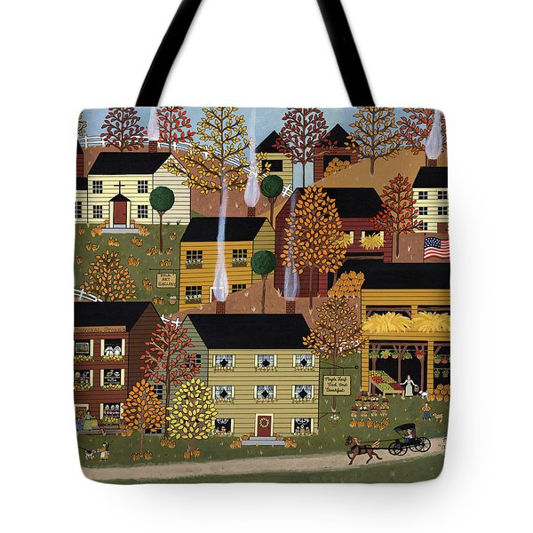 Autumn Afternoon Tote Bag by Medana Gabbard