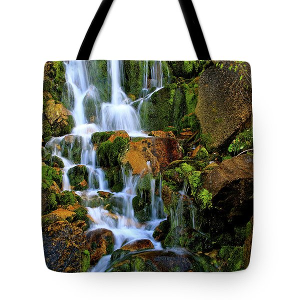 Autumn Along Summit Creek Tote Bag