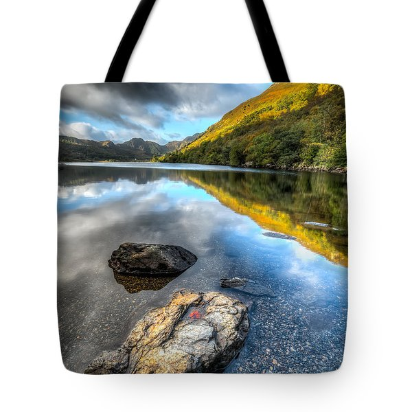 Autumn At Crafnant  Tote Bag by Adrian Evans