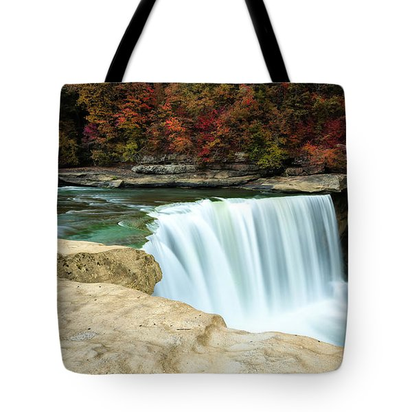 Autumn At Cumberland Falls Tote Bag