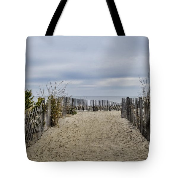 Autumn At The Beach Tote Bag