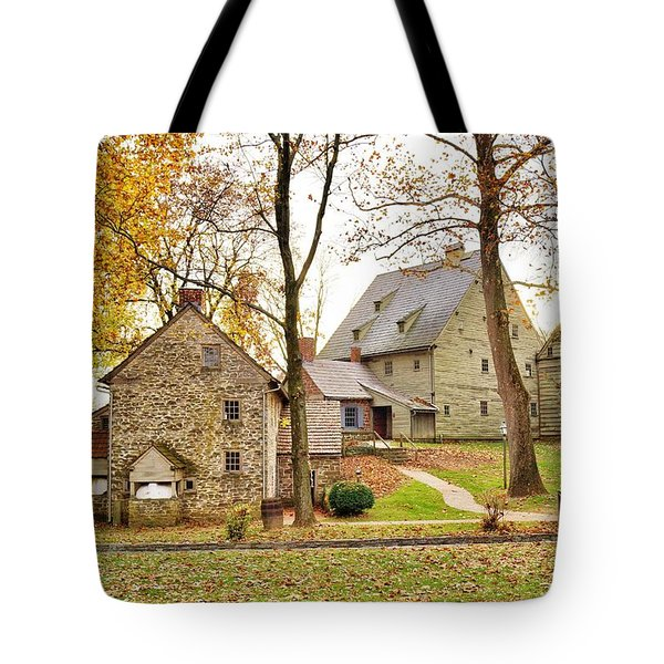 Autumn At The Cloister Tote Bag