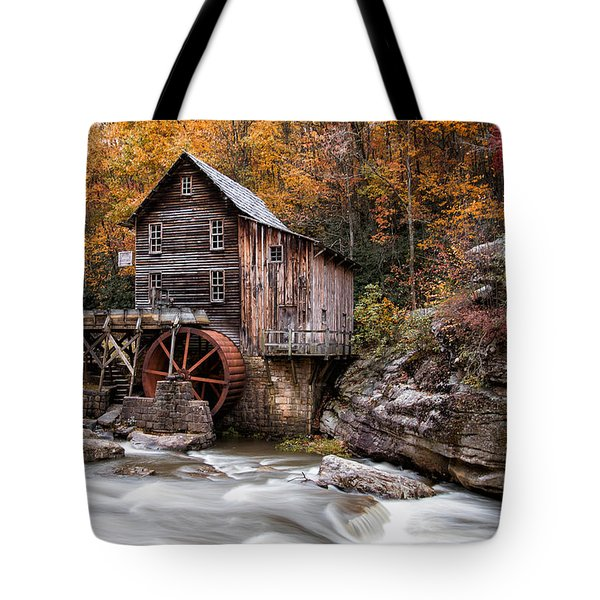 Autumn At The Mill Tote Bag