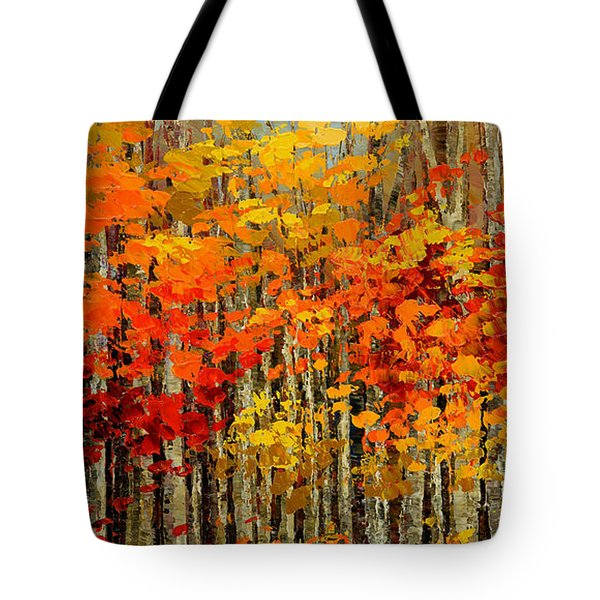 Autumn Banners Tote Bag