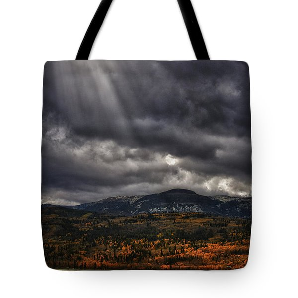 Autumn Beams Tote Bag