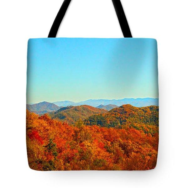Autumn Blue Ridge Tote Bag
