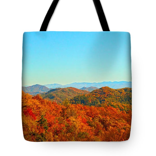 Autumn Blue Ridge Tote Bag