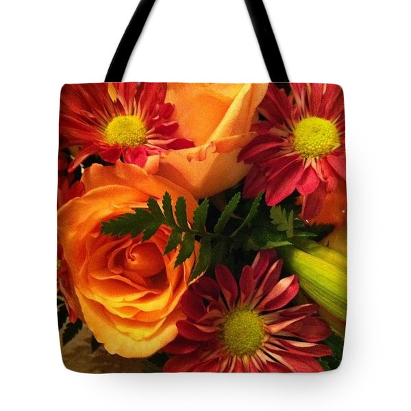 Autumn Bouquet Tote Bag