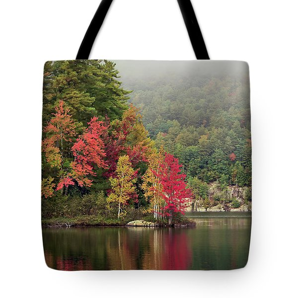 Autumn Breath Tote Bag