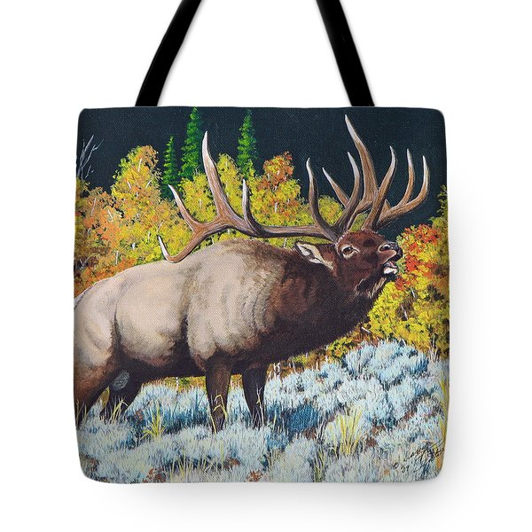 Autumn Challenge Tote Bag