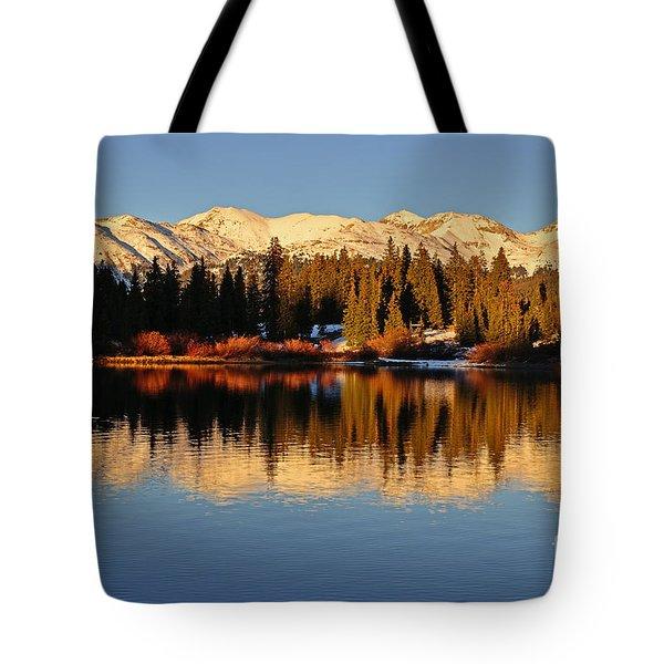 Autumn Colors At Molas Tote Bag