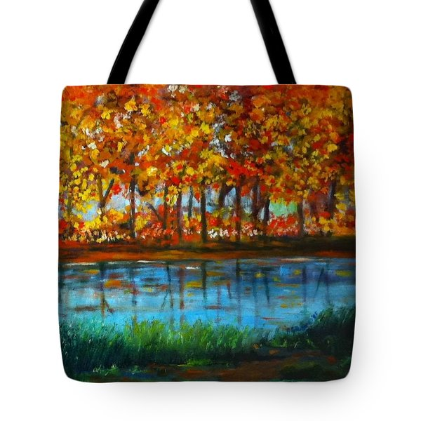Autumn Colors Tote Bag by B Russo