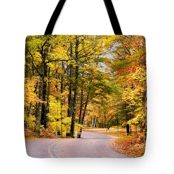 Autumn Colors - Colorful Fall Leaves Wisconsin - II Tote Bag