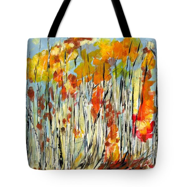 Autumn Colours Tote Bag by David Dossett