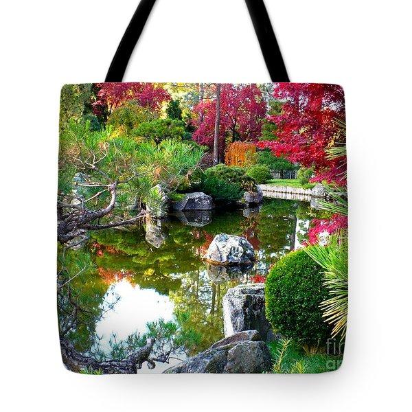 Autumn Dream Tote Bag by Carol Groenen