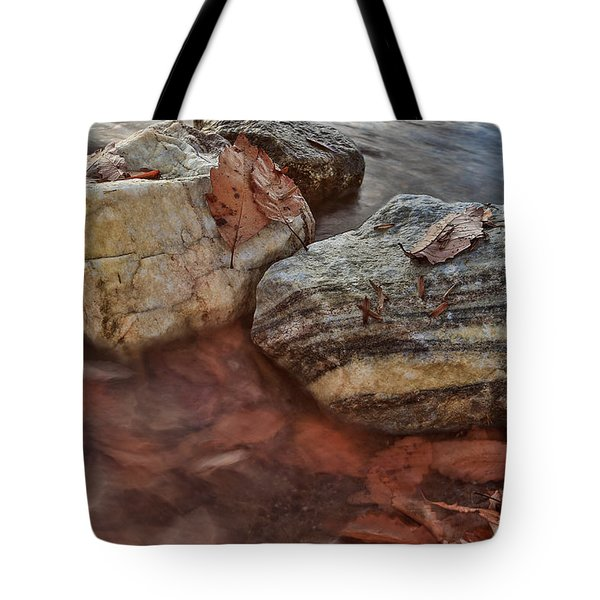 Tote Bag featuring the photograph Autumn Drift by Jennifer Casey