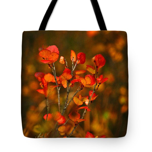Autumn Emblem Tote Bag