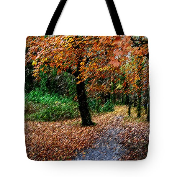 Autumn Entrance To Muckross House Killarney Tote Bag