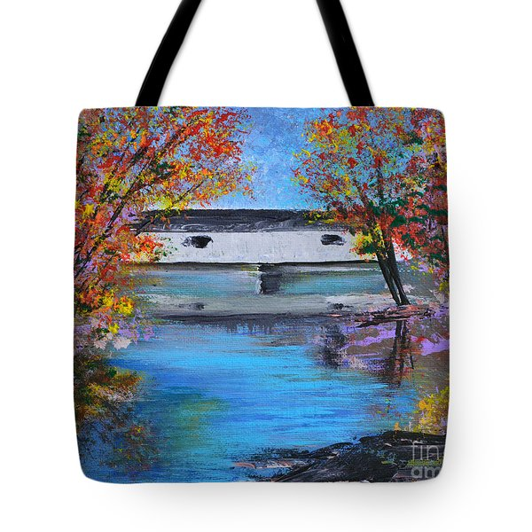 Autumn Evening Tote Bag by Alys Caviness-Gober