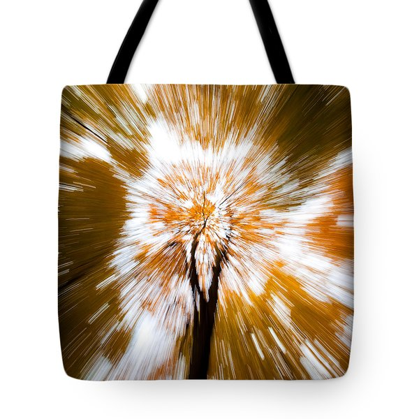 Autumn Explosion Tote Bag