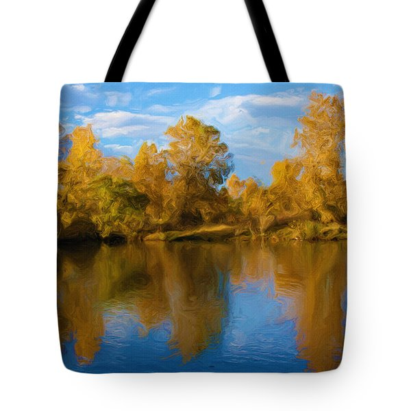 Autumn Fever Tote Bag by Ayse Deniz