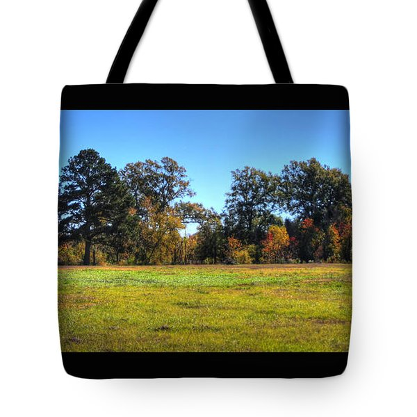 Autumn Field Tote Bag by Ester  Rogers
