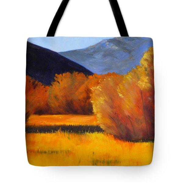 Autumn Field Tote Bag