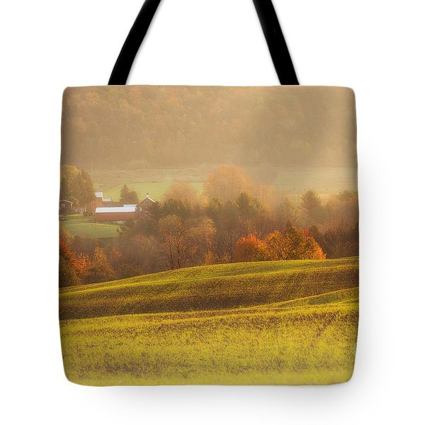 Autumn Fields Tote Bag