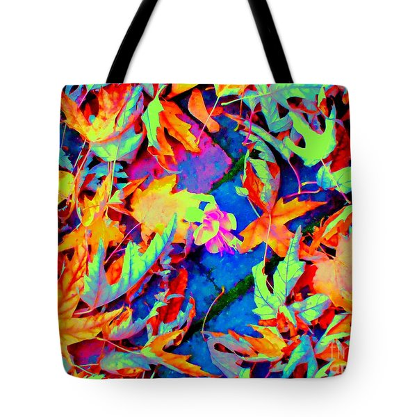 Autumn Fiesta Tote Bag by Ann Johndro-Collins