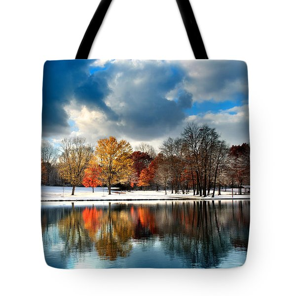 Autumn Finale Tote Bag by Rob Blair