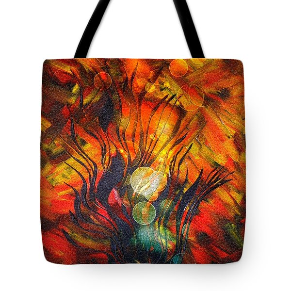 Autumn Fire By Nico Bielow Tote Bag by Nico Bielow