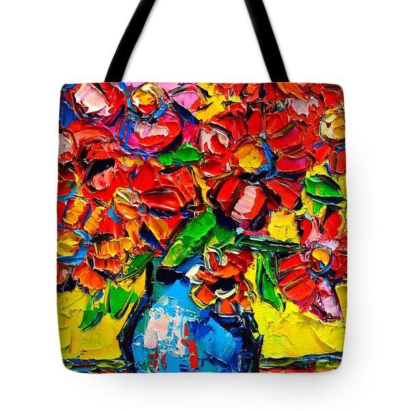 Autumn Flowers 7 Tote Bag by Ana Maria Edulescu