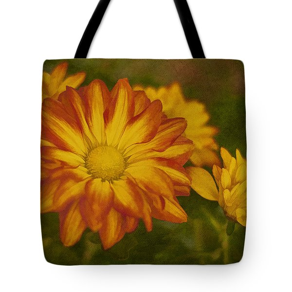 Autumn Flowers Tote Bag by Ivelina G