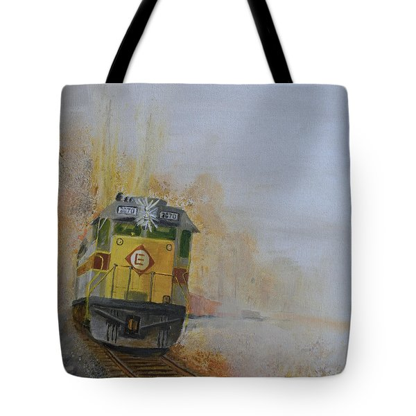 Autumn Fog Tote Bag by Christopher Jenkins