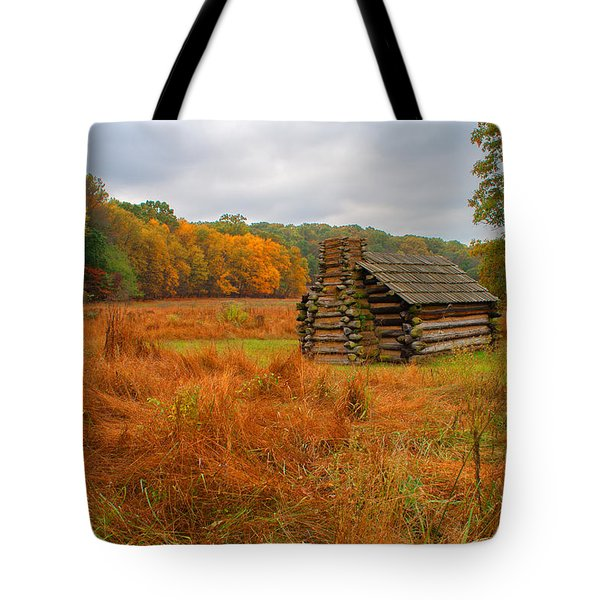 Autumn Foliage In Valley Forge Tote Bag