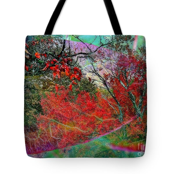 Tote Bag featuring the photograph Autumn Fusion 3 by Jeff Breiman