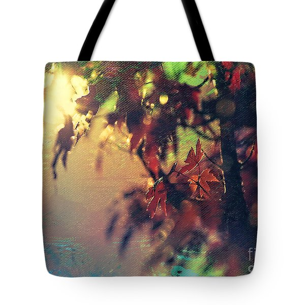 Autumn Glow Tote Bag by Billie-Jo Miller