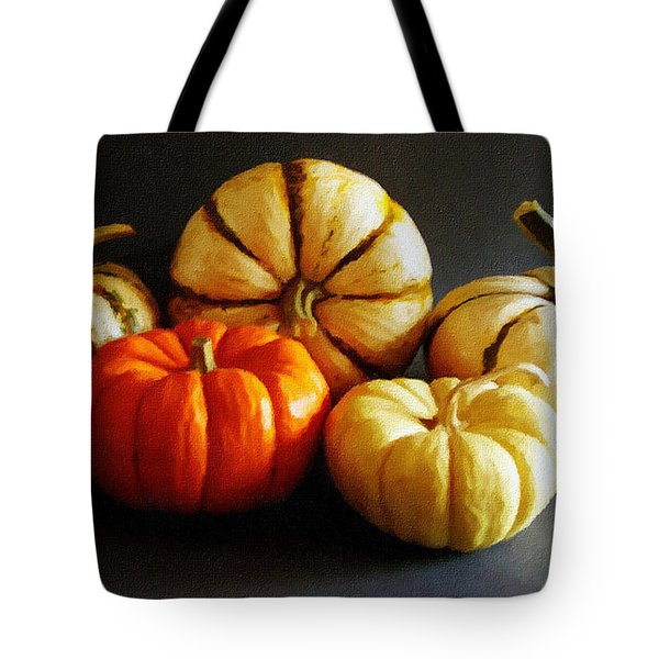 Autumn Gourds Tote Bag
