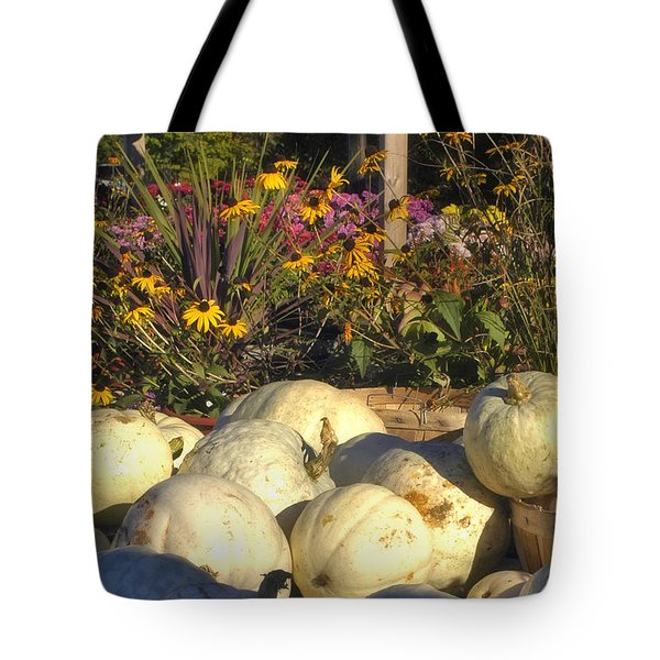 Autumn Gourds Tote Bag by Joann Vitali