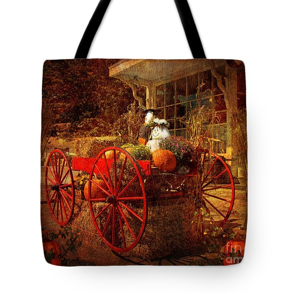 Autumn Harvest At Brewster General Tote Bag