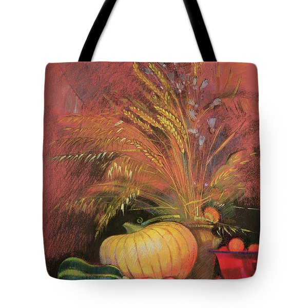 Autumn Harvest Tote Bag by Claire Spencer