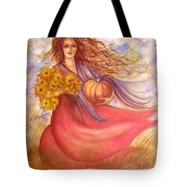 Autumn Harvest Tote Bag by Sheri Lauren Schmidt