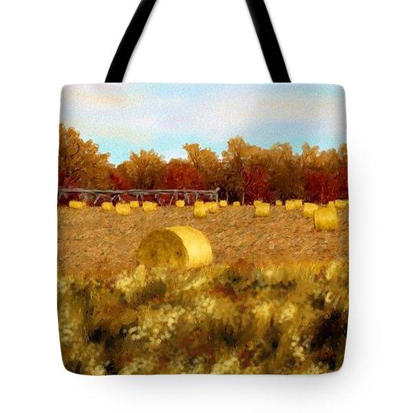 Autumn Hay Tote Bag