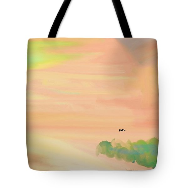 Autumn Hills Tote Bag by Lenore Senior