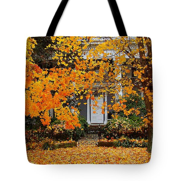 Autumn Homecoming Tote Bag