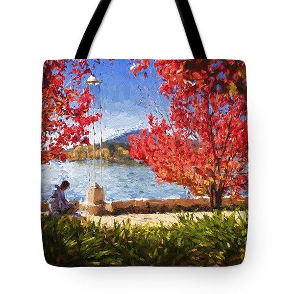 Autumn In Canberra Tote Bag