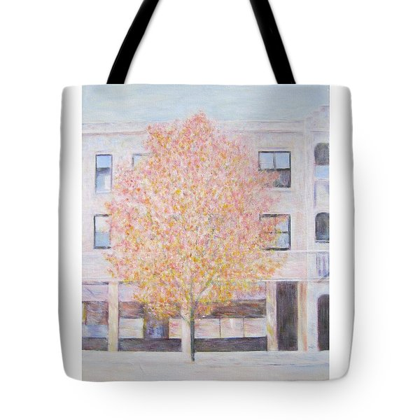 Autumn In Chicago Tote Bag