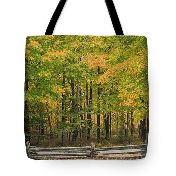 Autumn In Door County Tote Bag by Adam Romanowicz