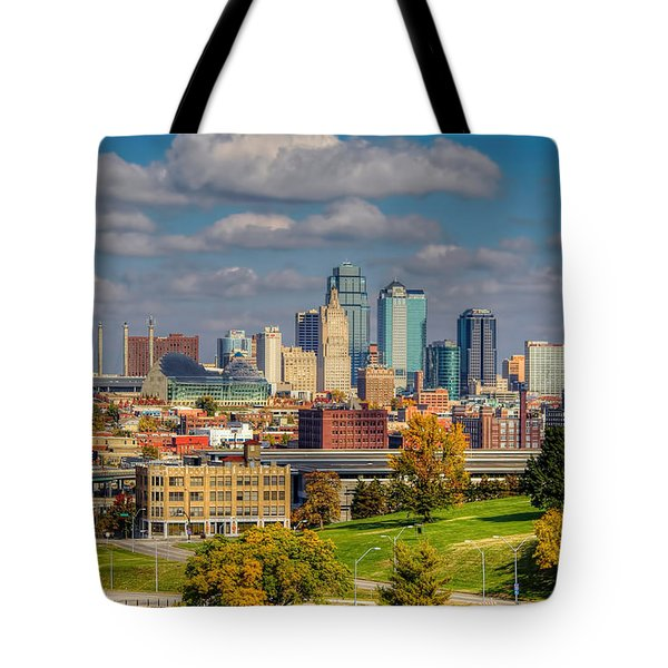 Autumn In Kansas City Tote Bag
